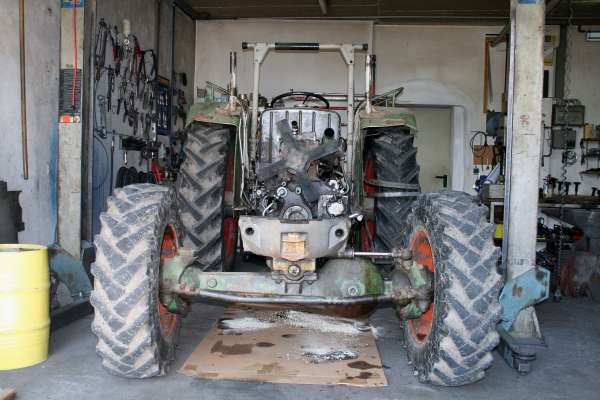 Fendt Restauration Favorit 3 Schlepper