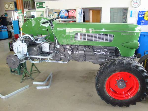 Fendt Schlepper Restauration